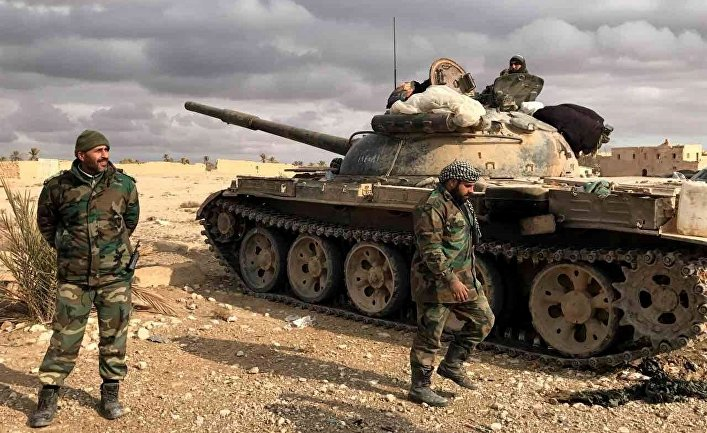 Пальмира при поддержке ВКС РФ была взята войсками Сирийской Арабской Республики