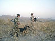 На таджикско-афганской границе