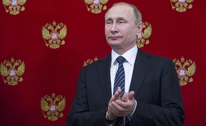 Президент России Владимир Путин в Кремле