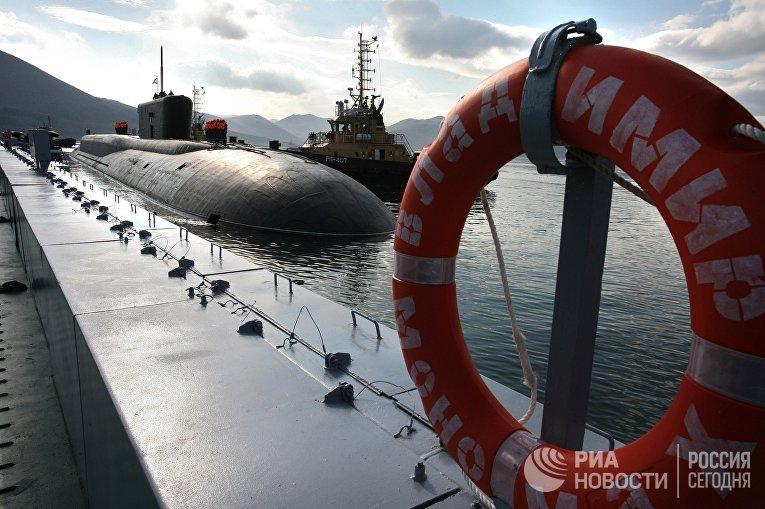 АПЛ «Владимир Мономах» прибыла к месту постоянного базирования на Камчатку