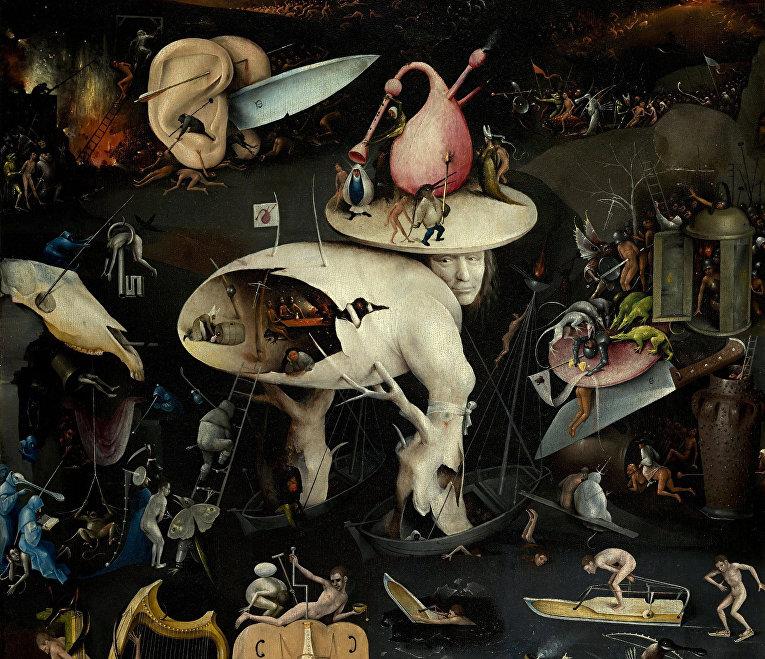 Фрагмент триптиха «Сад земных наслаждений»