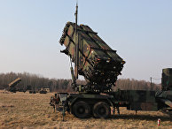 Американский зенитный ракетный комплекс Patriot во время совместных учений с польскими военными