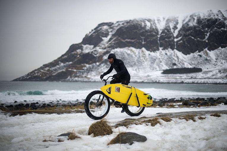 Серфинг за полярным кругом