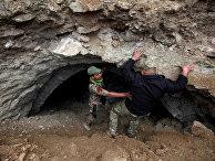 Секретная подземная база боевиков ИГИЛ