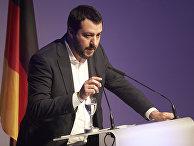 Лидер итальянской партии «Лига Севера» Маттео Сальвини