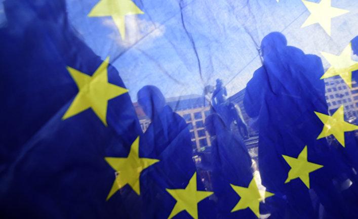Про-европейская демонстрация в Берлине