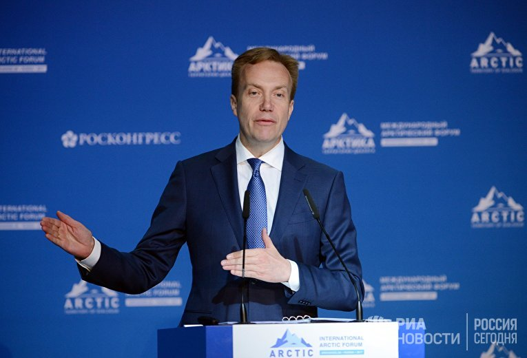 Министр иностранных дел Норвегии Бёрге Бренде
