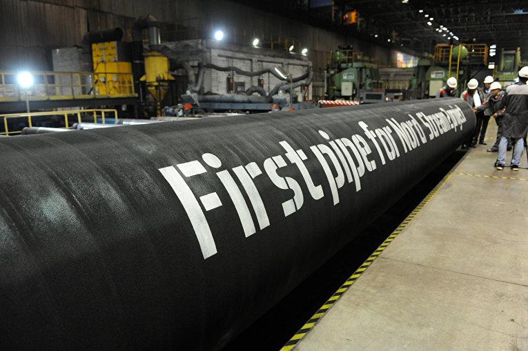 Трубы для проекта «Северный поток - 2» на заводе ОМК в Выксе