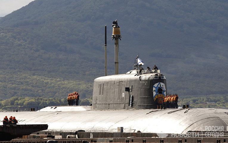 База 16 Краснознаменной эскадры подводных лодок Тихоокеанского флота в Вилючинске
