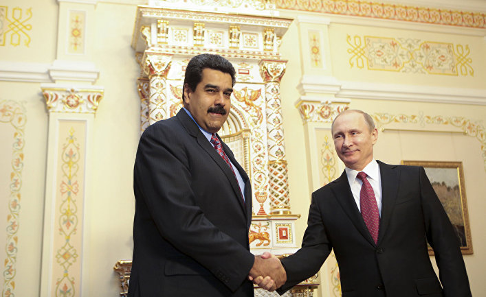 Встреча Владимира Путина с президентом Венесуэлы Николасом Мадуро