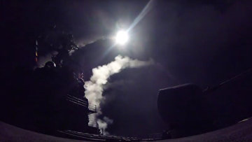 US strikes in Syria launched from USS Porter