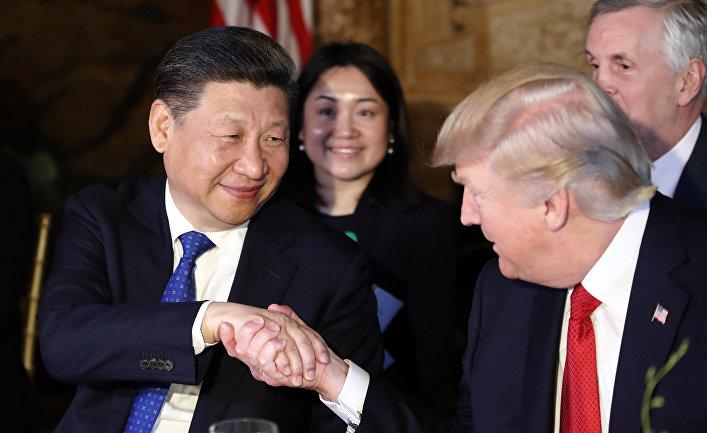 Картинки по запросу си цзиньпин и трамп
