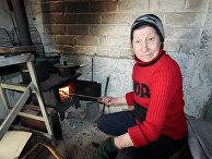 Жизнь в прифронтовом поселке Донецк-Северный в Донбассе