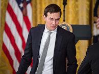 Старший советник Белого дома Джаред Кушнер в Белом доме