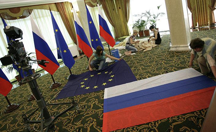 """Подготовка Международного пресс-центра к Саммиту """"Россия-ЕС"""""""