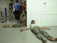 Жертвы химической атаки в Сирии