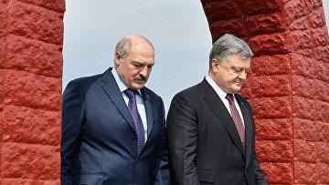 Президенты Украины и Белоруссии посетили Чернобыльскую АЭС