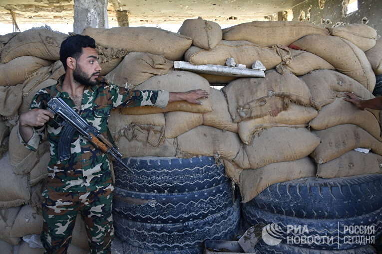 Ситуация в сирийском городе Дейр-эз-Зор