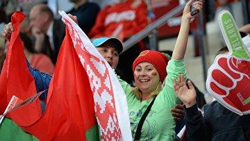 Хоккей. Чемпионат мира. Матч Латвия - Белоруссия
