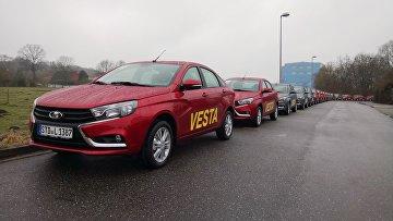 Старт продаж LADA Vesta в Германии