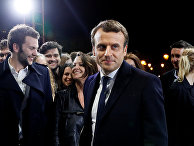 Лидер движения «En Marche» Эммануель Макрон