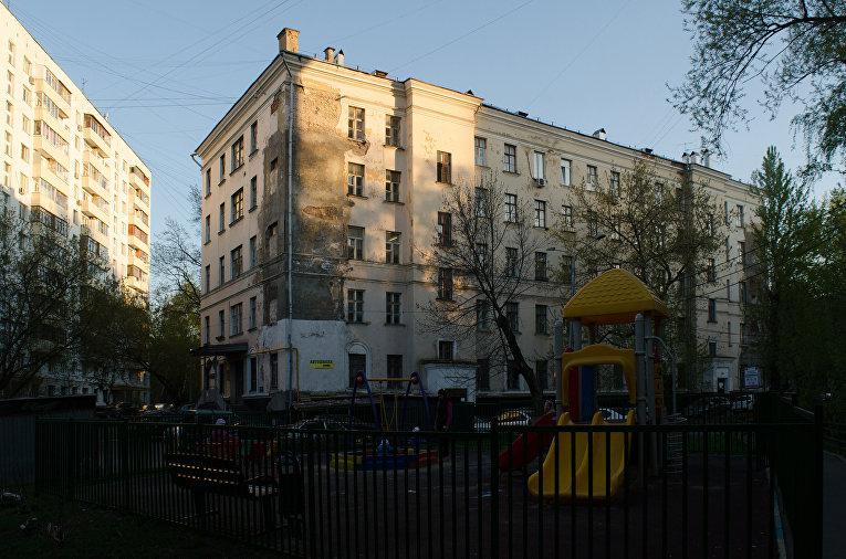 Пятиэтажка на Доброслободской улице, Москва