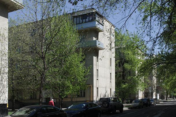 Сталинки на Тульской улице, Москва