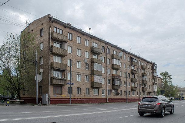 Дома возле «Москва-сити»