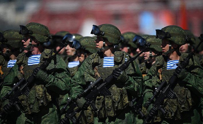 Генеральная репетиция военного парада, посвящённого 72-й годовщине Победы в ВОВ