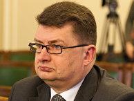 Начальник Бюро по защите Конституции Латвии Янис Майзитис