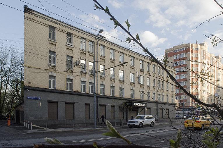 «Плоский дом» на Пресненском валу, Москва