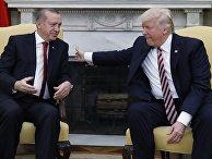 Встреча президента США Дональда Трампа и президента Турции Реджепа Эрдогана в Вашингтоне