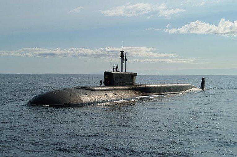 Подводная лодка ВМФ РФ