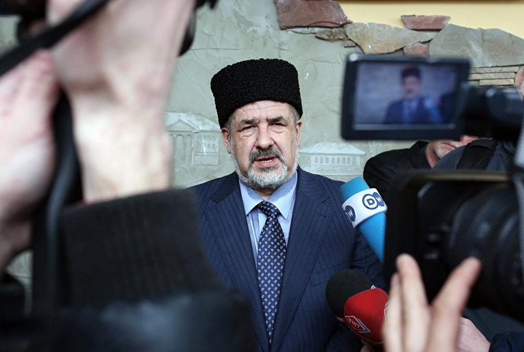 Глава Меджлиса крымско-татарского народа Рефат Чубаров