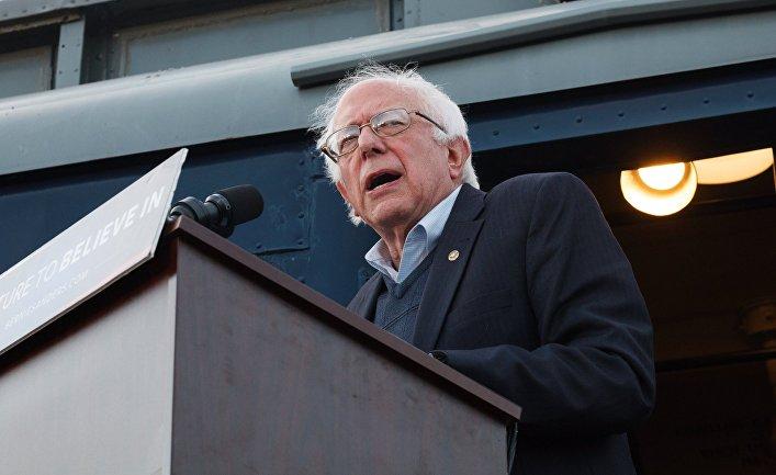 Ралли кандидата в президенты США от демократической партии Бернарда Сандерса в штате Кентукки