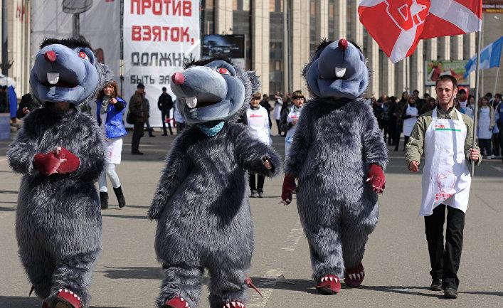 """Акции """"Стоп коррупция"""" в Москве"""