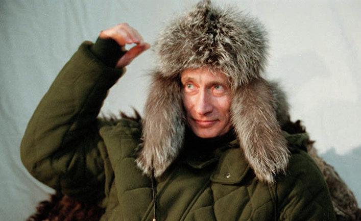 Владимир Путин во время ланча в Завидово. 2003 год