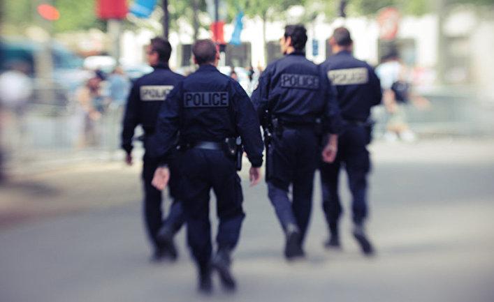 Полиция, Париж, Франция