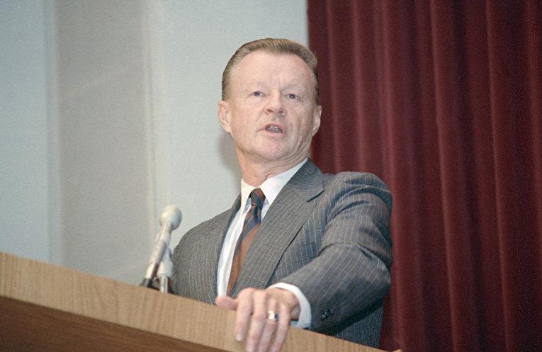 Бывший советник по национальной безопасности Збигнев Бжезинский