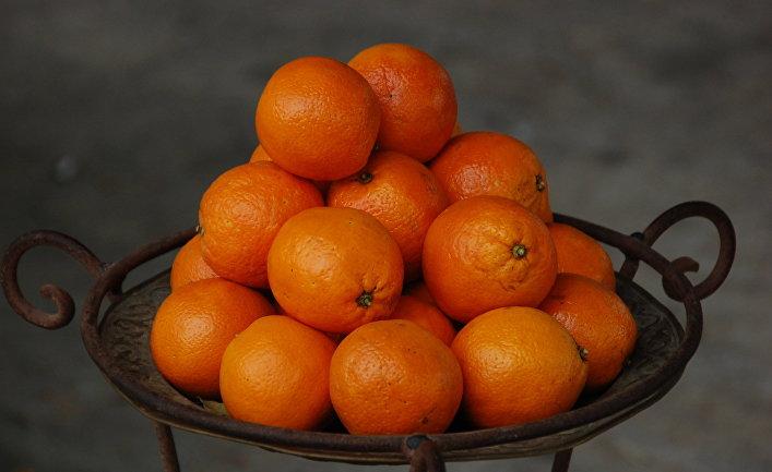 Апельсины в городе Хумт-Сук на острове Джерба