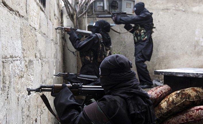 Представители движения «Саут аль-Хак»