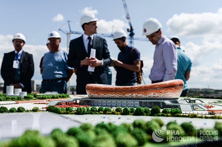 Строительство стадиона «Мордовия Арена» к ЧМ-2018