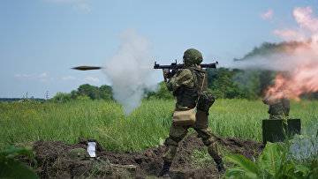 Учения морских пехотинцев в Краснодарском крае