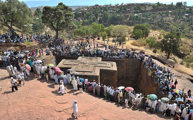 Церковь Святого Георгия (Лалибэла) в Эфиопии