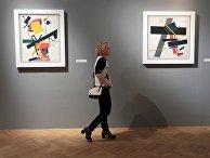 Выставка «Казимир Малевич. До и после квадрата»