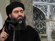 Лидер «Исламского государства» Абу Бакр аль-Багдади