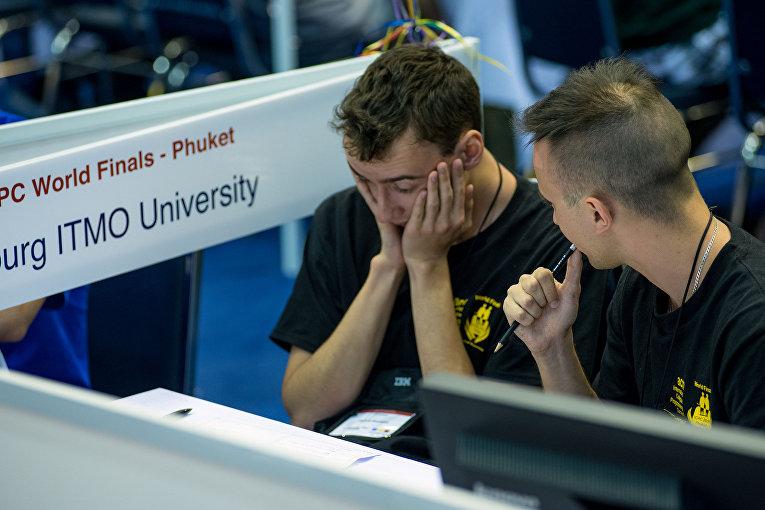 Студенты университета ИТМО на Олимпиаде по программированию среди студентов 2016 в Тайланде