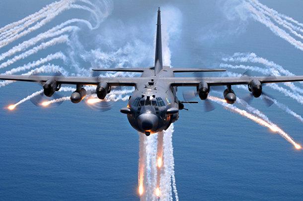 Тяжеловооруженный самолёт Lockheed Martin AC-130H