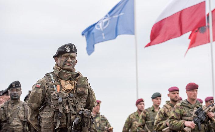 Учения НАТО в Польше