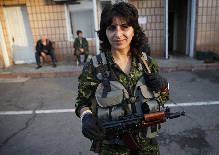 Стелла, воюющая на стороне украинской армии
